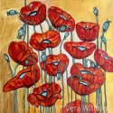3_Poppies In Gold