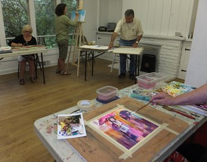 Open Studio at the Mill Pond Gallery