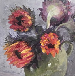 OIL/ACRYLIC - Olga - Painting, Beginners/Intermediate @ Mill Pond Gallery | Richmond Hill | Ontario | Canada