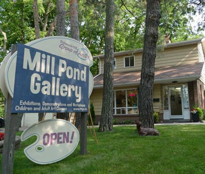 Discover Your Inner Artist Group Show and Sale @ Mill Pond Gallery | Richmond Hill | Ontario | Canada