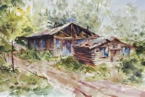 WATERCOLOUR - Masoud Seivani @ Mill Pond Gallery | Richmond Hill | Ontario | Canada