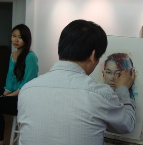 PORTRAITURE - GouYue Dou - All Levels @ Mill Pond Gallery | Richmond Hill | Ontario | Canada