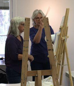 OIL/ACRYLIC - Olga - Painting, Beginners/Intermediate @ Mill Pond Gallery | Richmond Hill | Ontario | Canada