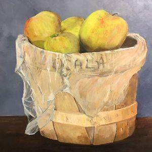 Margaret B painting