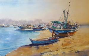 DEMO - Watercolour with Momin Khan @ Mill Pond Gallery | Richmond Hill | Ontario | Canada