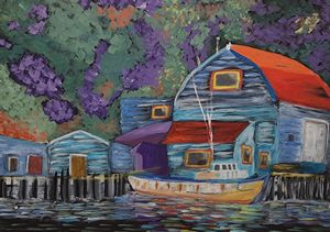 Week 7 - Artists in Residence @ Mill Pond Gallery | Richmond Hill | Ontario | Canada