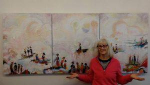 VIRTUAL DEMO EVENING - Grethe Jensen @ Mill Pond Gallery